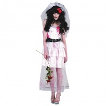 Zombie Bride Maskeraddräkt