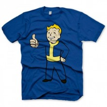 Fallout Thumbs Up T-Shirt Blå