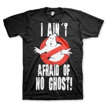 Ghostbusters I Ain´t Afraid T-Shirt Svart