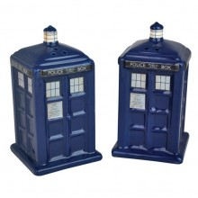 Doctor Who TARDIS Salt- & Pepparkar