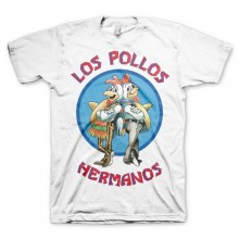 Breaking Bad Los Pollos Hermanos T-Shirt Vit