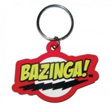 Big Bang Theory Bazinga Nyckelring