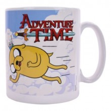 Adventure Time Jake Och Finn Flying Mugg