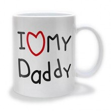 I Love My Daddy Mugg