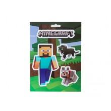 Minecraft Steve Pets Klistermärke pack