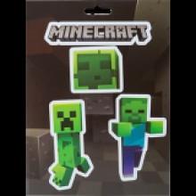 Minecraft Mobs Caves Klistermärken pack