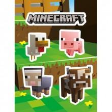 Minecraft Baby Djur Klistermärken
