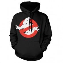 Ghostbusters Distressed Logo Hoodie Svart
