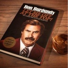 Ron Burgundy - Let Me Off at the Top! - Bok