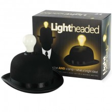 Light Headed Hatt och Lampa