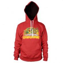 TMNT - Cowabunga Hoodie Röd