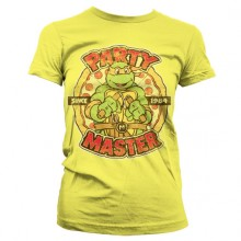 TMNT Party Master Since 1984 Gul Dam T-shirt