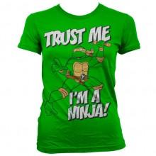TMNT - Trust Me, I´m A Ninja Girly T-Shirt Grön