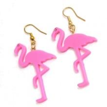 Flamingo Örhängen