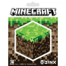Minecraft Dirt Block Klistermärke