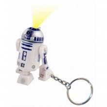 Star Wars R2-D2 Nyckelring med Ficklampa