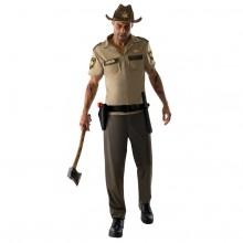Walking Dead Rick Grimes Maskeraddräkt
