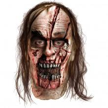 Walking Dead Delat Zombiehuvud Mask