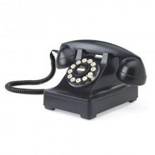 Retro Telefon Svart