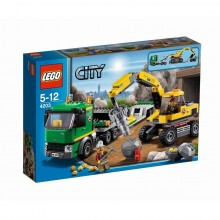 LEGO City Grävmaskinstransport 4203