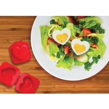 Eggspress - Hjärtformad Äggpress