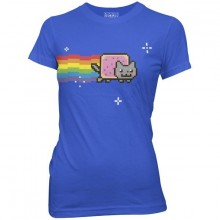 Nyan Cat Dam T-shirt