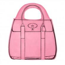 Shopperholic Shopper Rosa - Återanvändbar Shoppingbag