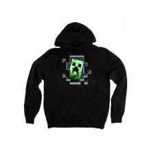 Minecraft Creeper Inside Hoodie