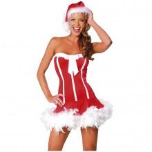 Sexy Santa Girl Maskeraddräkt