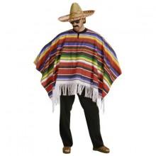 Mexikansk Poncho Maskerad