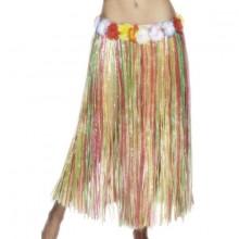 Hawaii Flerfärgad Bastkjol