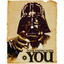 Star Wars - Your Empire Needs You Affisch