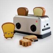 USB Toaster Hub och USB-minne