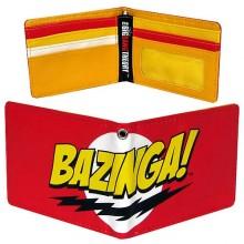 Big Bang Theory Bazinga Plånbok
