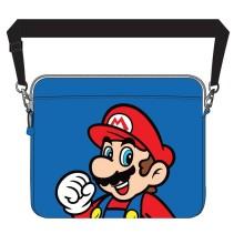 Blå Mario Laptopväska
