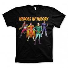 The Big Bang Theory - Heroes In Theory T-Shirt