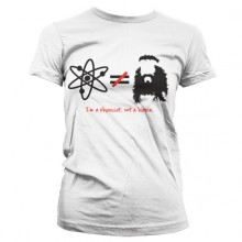 The Big Bang Theory - I'm A Physicist, Not A Hippie Dam T-Shirt