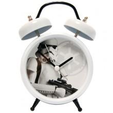 Retro Storm Trooper Pratande Väckarklocka