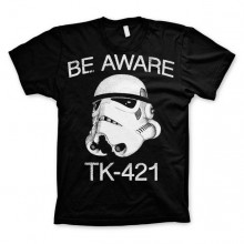 Star Wars Be Aware - TK-421 T-Shirt