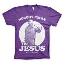 Big Lebowski Nobody Fools The Jesus T-Shirt