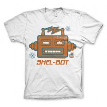 The Big Bang Shel-Bot T-shirt