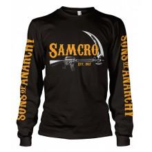 SAMCRO Est. 1967 Long Sleeve T-Shirt Svart