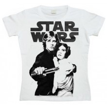Star Wars Skywalker & Leia Dam T-shirt