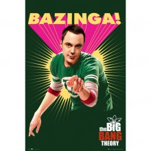 Big Bang Theory Bazinga Poster