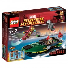 LEGO Super Heroes Ironman Hamnstriden 76006
