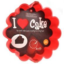 I Love Cake Kakform