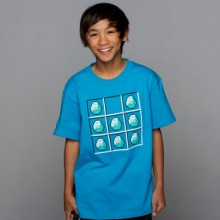 Minecraft Diamond Crafting Turquoise Barn T-Shirt