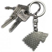 Game Of Thrones Stark Nyckelring