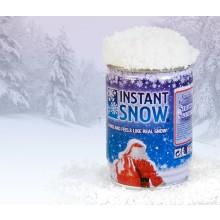 Snö på Burk