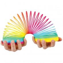 Regnbågsfärgad Slinky